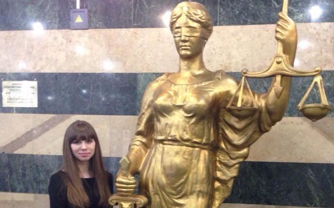 Богиня справедливости и правосудия