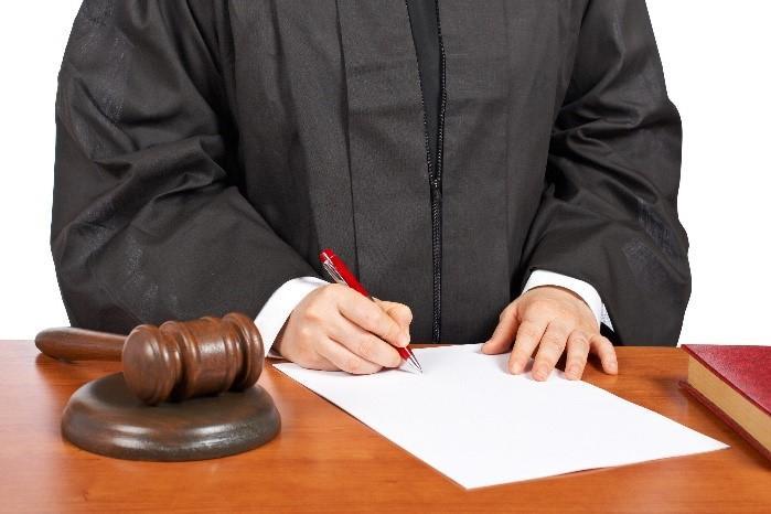 Решение подписывает ненадлежащий судья