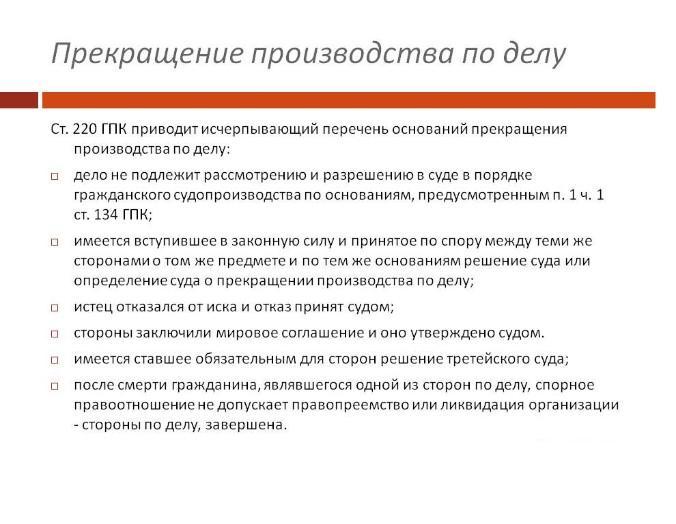 Фото содержит иллюстрацию из ГПК РФ